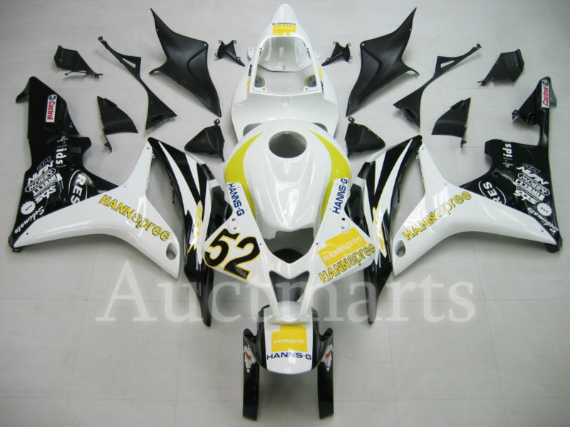 For Honda CBR 600 RR 2007 2008 Injection  ABS Plastic motorcycle Fairing Kit Bodywork CBR 600RR 07 08 CBR600RR CBR600 RR CB04