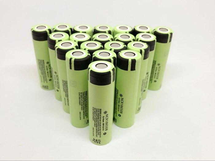 10pcs lot New Original Battery For Panasonic 18650 NCR18650B Rechargeable 3 7V 3400mAh Li Ion Batteries