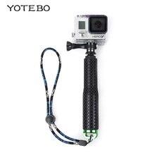 18-48cm Telescoping Handheld Monopod Selfie Stick Mount Adapter Waterproof Equipment for SJ4000 SJ5000 M10 M20 sj6 legend