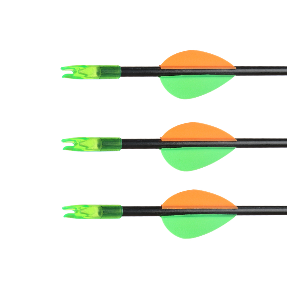 Image 3 - Huntingdoor Child Sucker Arrow 6/12 pcs 60cm Diameter 6mm Safety Arrow with nocks Outdoor Child Bow Arrow Equipment Toy-in Bow & Arrow from Sports & Entertainment
