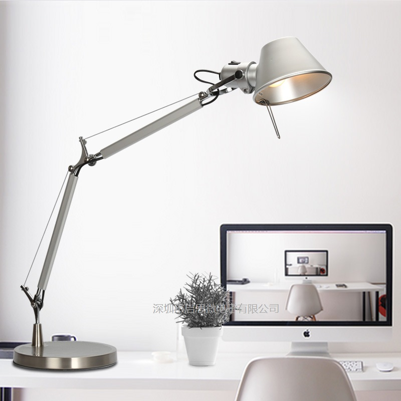fashion long swing arm desk lamp led table lamp office led. Black Bedroom Furniture Sets. Home Design Ideas