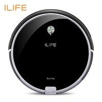 ILIFE A6 Função Miniroom Robotic Vacuum Cleaner Virtual Parede Poderosa Sucção Automático de Recarga