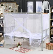 1pc New White Four Corner Post Student Canopy Bed Mosquito Net netting Twin Queen King size Free Shipping