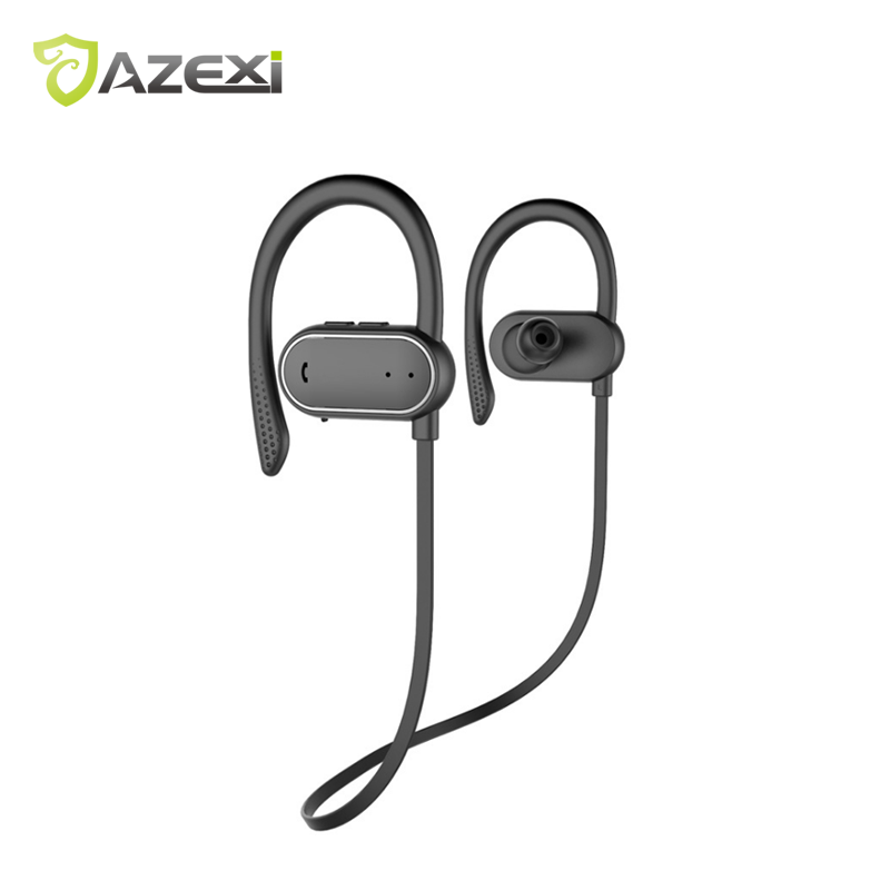 Multi-function Passometer Sports Earphone Bluetooth Neckband Wireless Stereo Waterproof Sweetproof headphone Super long standby