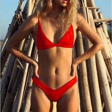 Heal The Summer 2018 New Hot Sale Bikini Set Swimwear Swimsuit Pad Female Sexy Brazilian style Basic Classical design Gift