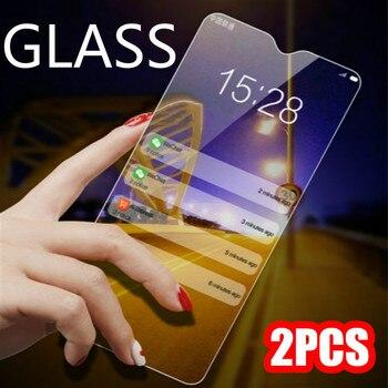 2 uds película protectora para Xiaomi Mi9T 9Tpro 9 8 Redmi K20 K20pro HD vidrio en Redmi Note 7 6 5 Pro Protector de pantalla de vidrio templado