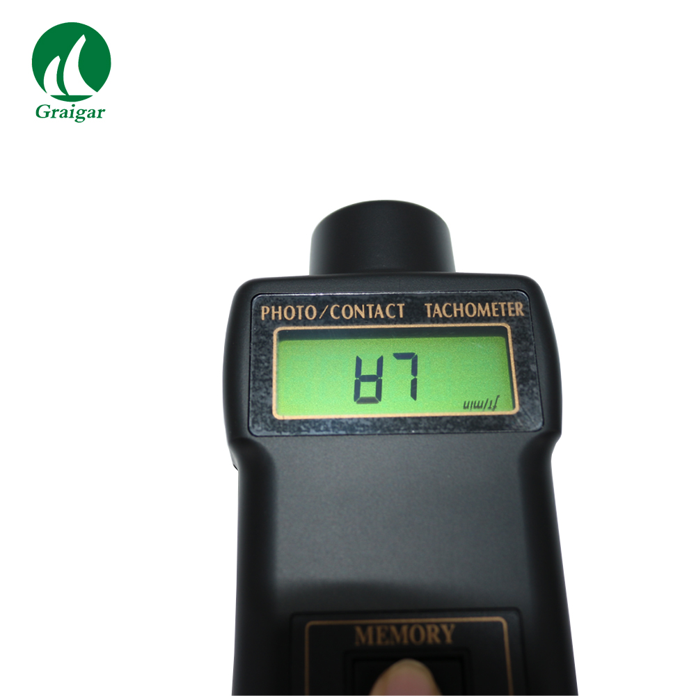 DT2236 Multifunctional, one instrument combines PHOTO TACH& CONTACT TACH - 6