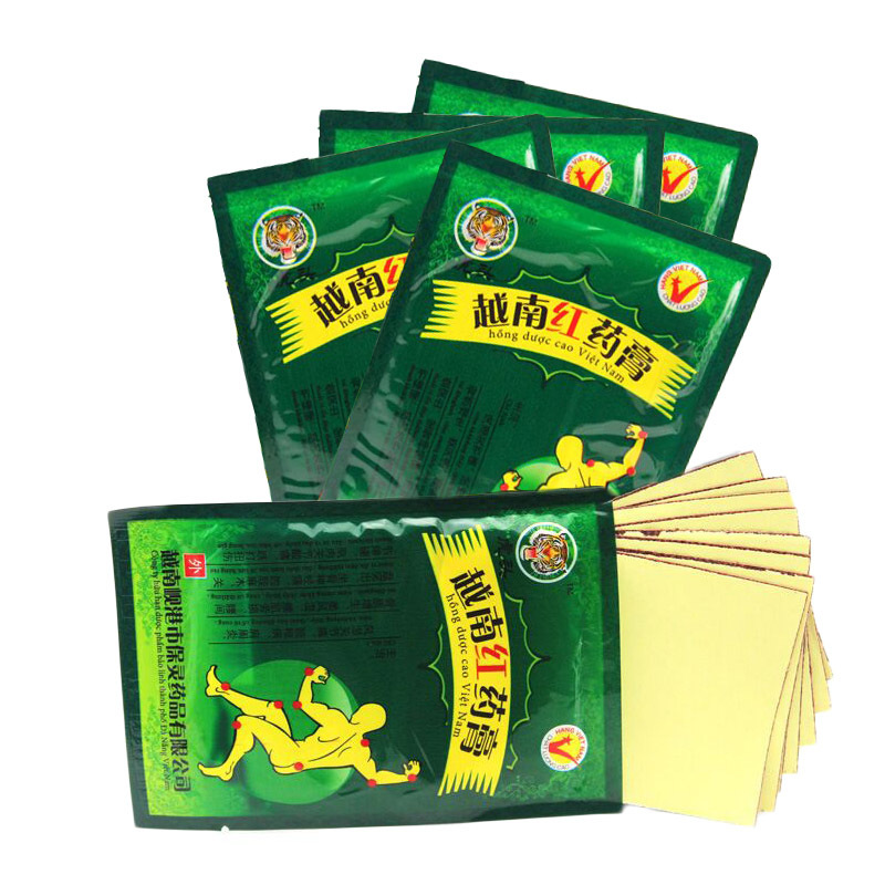 24pcs Medical Arthritis Pain Plaster Upper Back Muscle Pain Relief Patch Vietnam Red Tiger Balm Plaster For Sciatica Back Pain 2boxes 12 magnetic patch for hyperosteogeny medical massage patch treat osteoarthritis bone hyperplasia spondylosis herb plaster