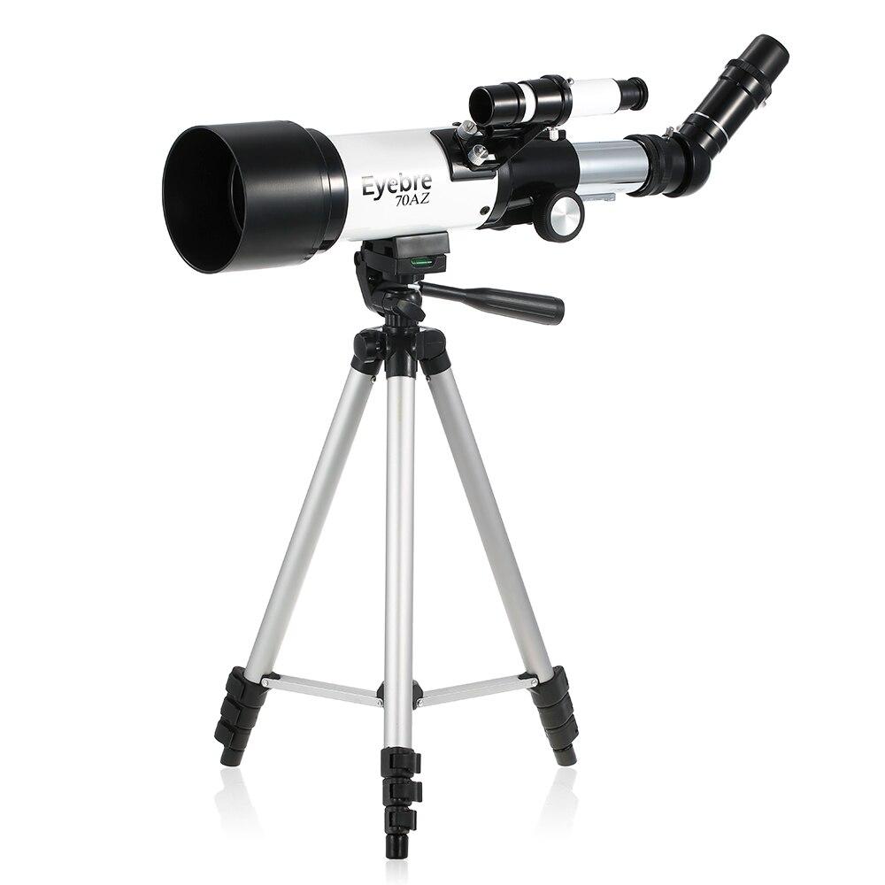 En plein air télescope monoculaire Espace Télescope Astronomique Paysage Objectif Unique-tube Spotting Scope avec trépied portable
