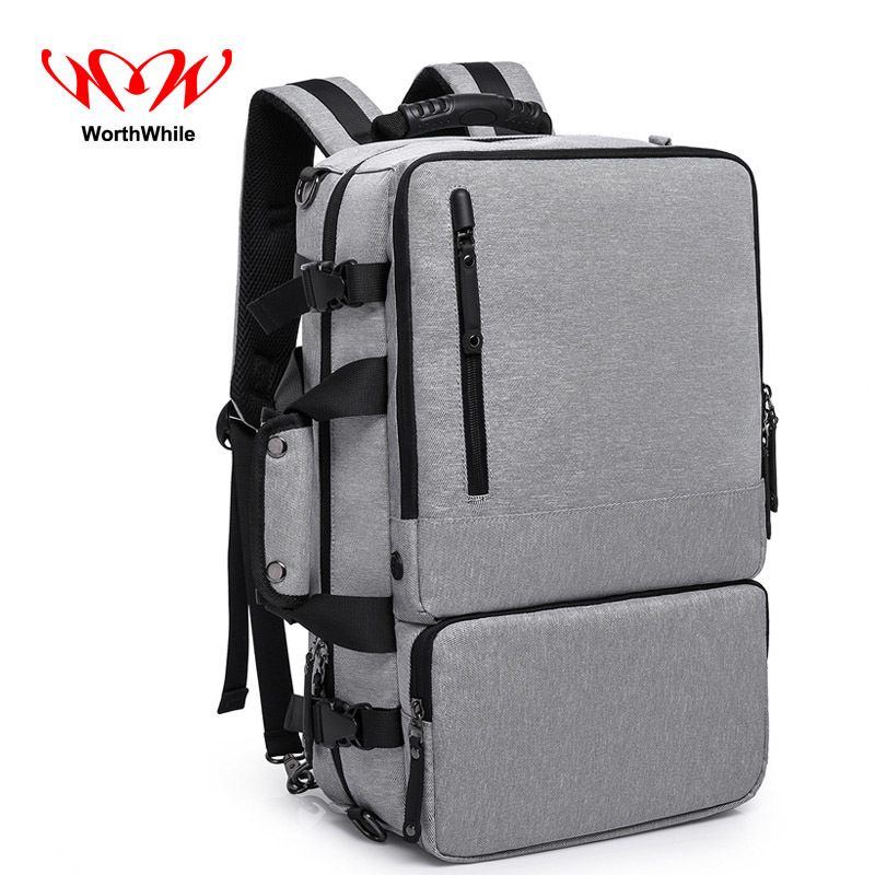 WorthWhile Multifunction Backpack Safe Vogue Laptop Bag Guard against theft for Outdoor Climbing Travelling School