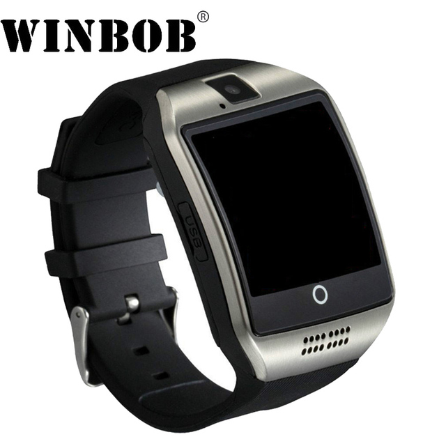 1ad4ffb3c WINBOB Bluetooth S1 Smart Watch Relogio Android Smartwatch Phone Call SIM  TF Camera for IOS iPhone Samsung HUAWEI VS A1 Q18