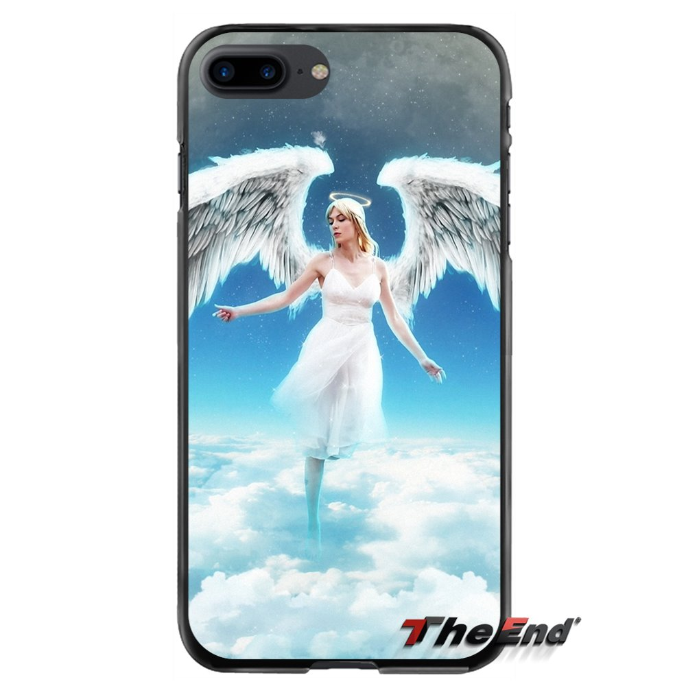 Accessories Phone Shell Covers For Apple iPhone 4 4S 5 5S 5C SE 6 6S 7 8 Plus X iPod Touch 4 5 6 Angels Vs. Demons