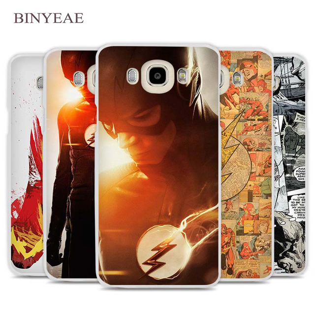 US $1 91 34% OFF|BINYEAE The Flash Man Phone Case Cover for Samsung Galaxy  J1 J2 J3 J5 J7 C5 C7 C9 E5 E7 2016 2017-in Half-wrapped Case from