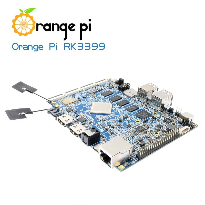 Orange Pi RK3399 2GB DDR3 16GB EMMC Cortex A72 Type C Double CSI ...