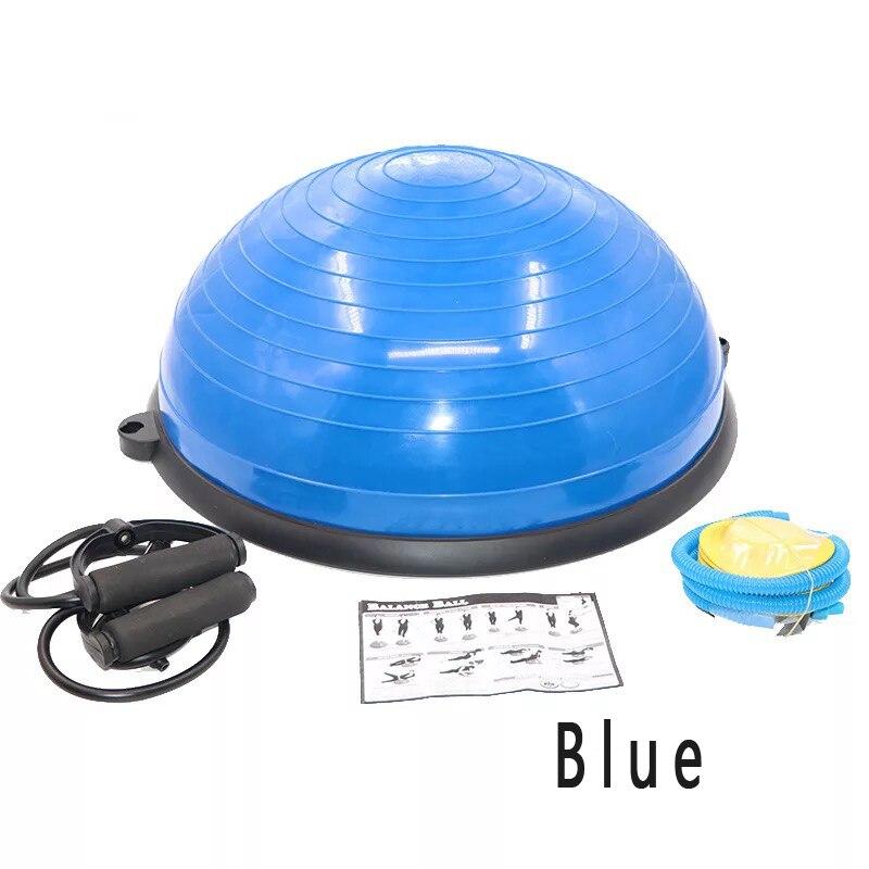 Hewolf 58*25 cm haute qualité Yoga balle corps équilibre demi-balle Fitness balle exercice Gym balle Sport Fitball preuve