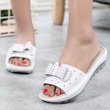 3447 г сезон: весна-лето сандалии на толстой подошве Маффин с женская обувь прямые продажи от производителей