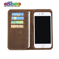 Original Brand GUBINTU Vintage Genuine Leather Wallet Men Ultra Thin High Quality Real Leather Cell Phone