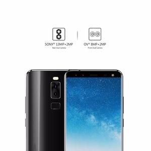 Image 5 - LEAGOO S8 Smartphone 5.72 HD + IPS 1440*720 ekran Android 7.0 MTK6750 Octa çekirdek 3GB + 32GB Quad Cam parmak izi 4G cep telefonu