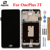 For OnePlus 3T LCD Display Touch Screen Digitizer Assembly For 5 5 OnePlus 3 Three LCD