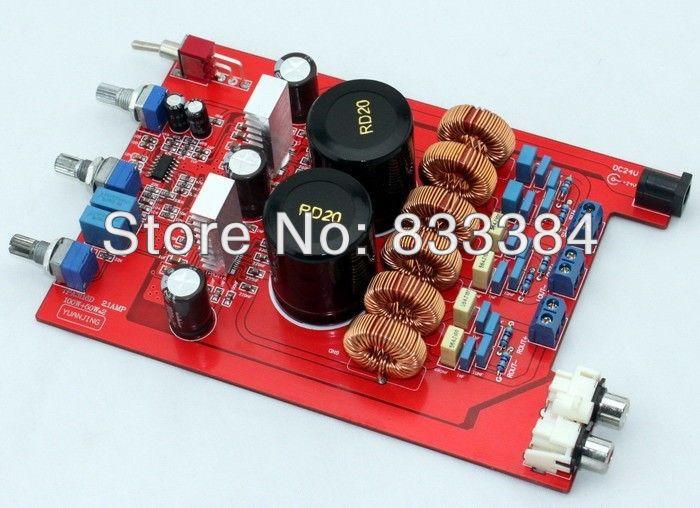 цена на TPA3116 2.1 2X50W+100W Class D amplifier assembled board luxurious amp board