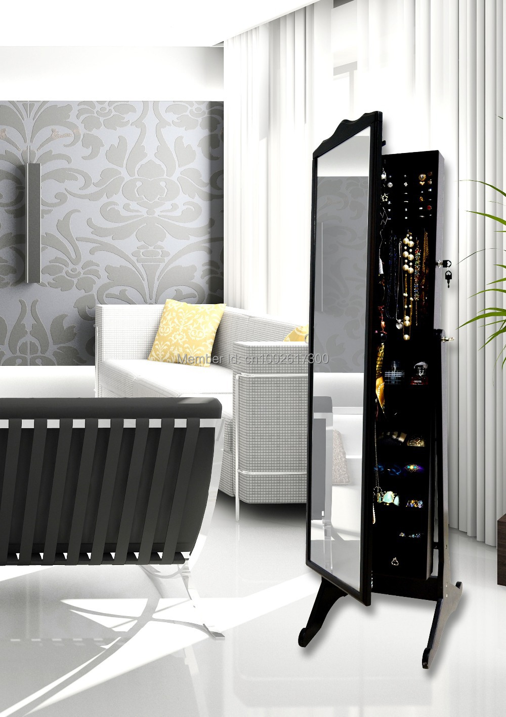 Living Room Furniture Made In The Usa Online Shop Wholesale Wooden Full Length Armoire Mirror Jewelry