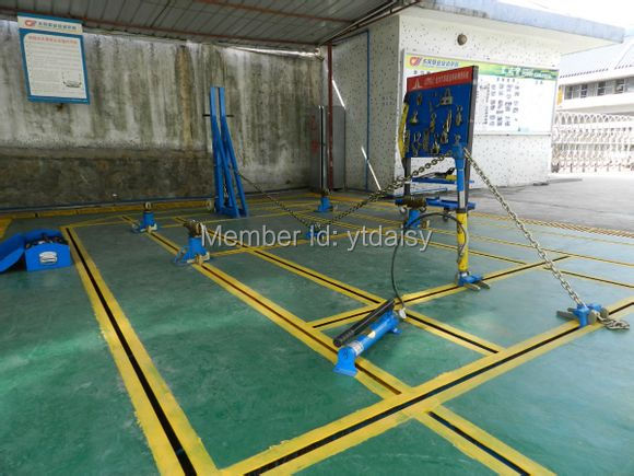 Factory Price Floor Auto Body Repair Frame Machine with CE / Car ...