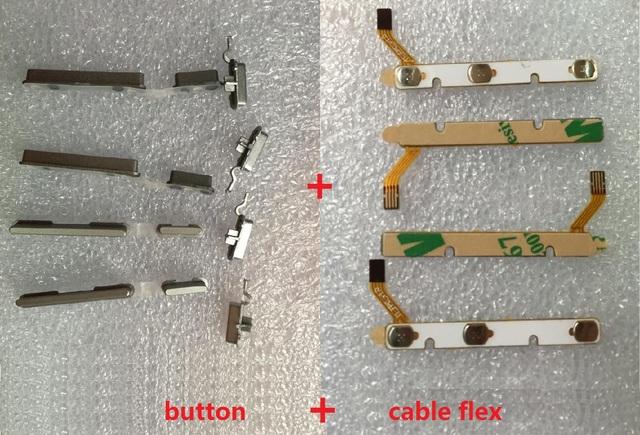 100% Genuino interruptor de encendido apagado botón de Volumen cable de la Flexión Para CUBE iwork8 tablet conductor flexible con reemplazo de la etiqueta engomada partes