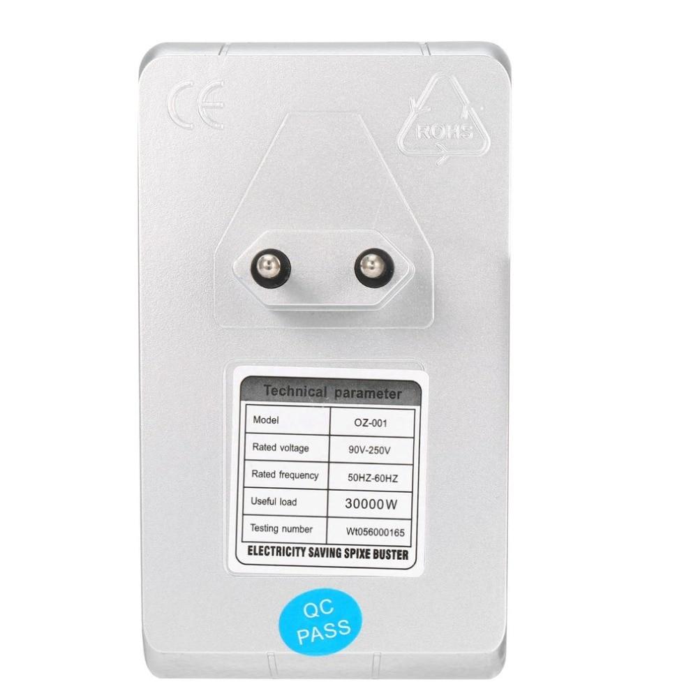 Image 5 - Интеллектуальный Защита окружающей среды чистые Мощность электричество Энергосбережение Коробка 30% заставки устройства 90 В 240 В 50 Гц  60 Гц экономии Buster