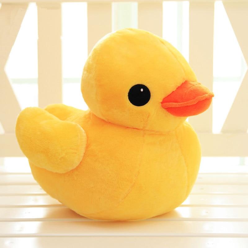 30cm Stuffed Dolls Rubber Duck Hongkong Big Yellow Duck