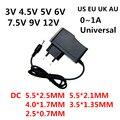 AC 110-240V DC 3V 4,5 V 5V 6V 7,5 V 9V 12 V 0.5A 1A Питание 3 4,5 5 6 7,5 9 12 вольт адаптер Зарядное устройство для Светодиодный светильник ленты CCTV