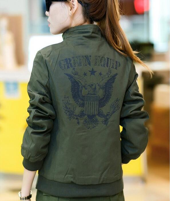 Womens military style coat