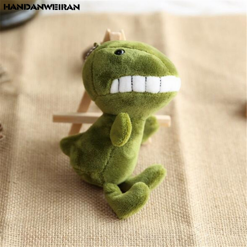 1PCS Mini Plush Smile Dinosaur Toys Cute Soft Stuffed Toothy Dinosaurs Toy Doll Small Pendant Dolls For Kids Hot 15CM