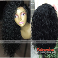 New Fashion! Long Loose Curly Synthetic Lace Front Wig Heat Resistant Fiber Hair Curly Synthetic Wigs For Black Women Free Ship