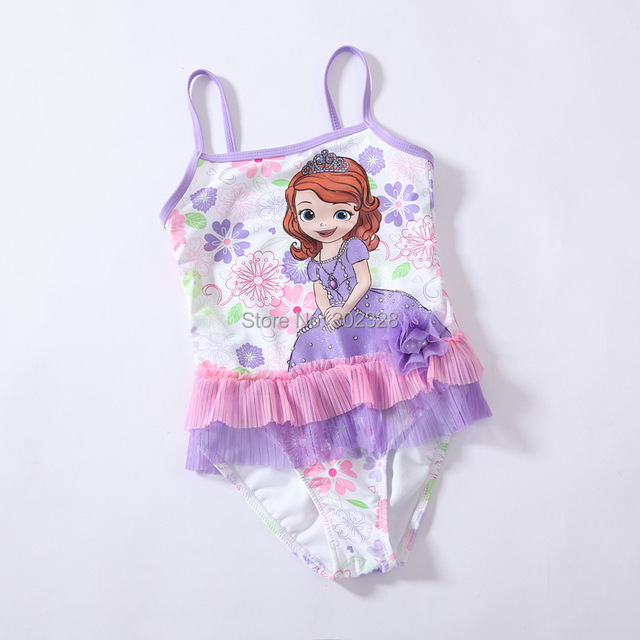 Retail Princess Sofia Character Swimsuit Baby Girls Bathers 2014 New
