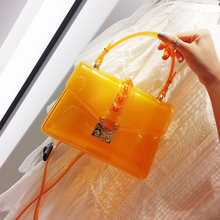 Luxury Handbags PVC Jelly Bag For Women Top-Handle