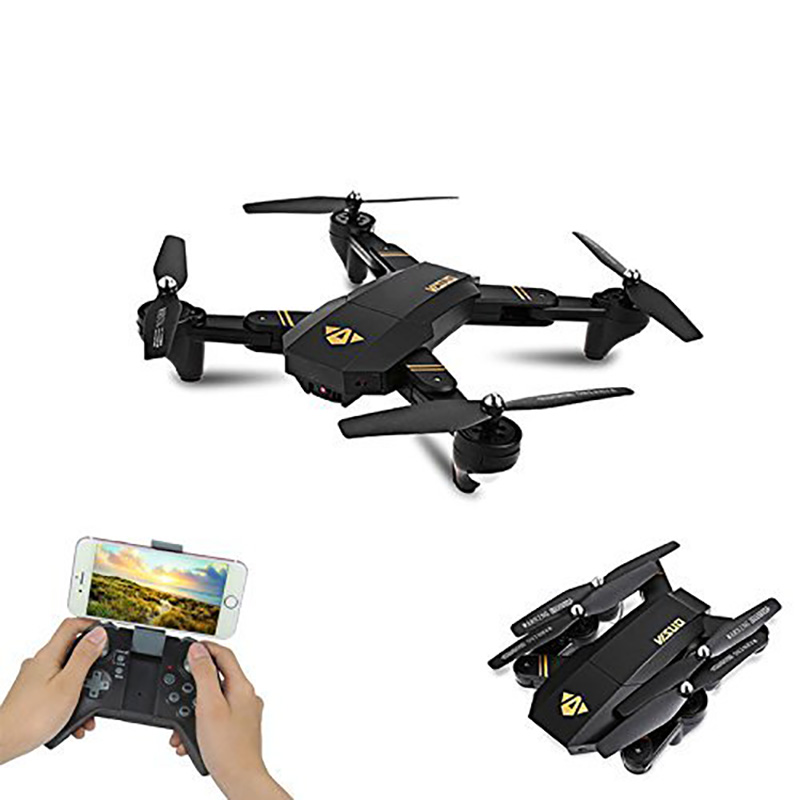 Visuo XS809W 3.7v 900mah 6-Axis Foldable Mini Drone Wifi Camera Remote Control RC Quadcopter FPV Multicopter Model Toy yc folding mini rc drone fpv wifi 500w hd camera remote control kids toys quadcopter helicopter aircraft toy kid air plane gift
