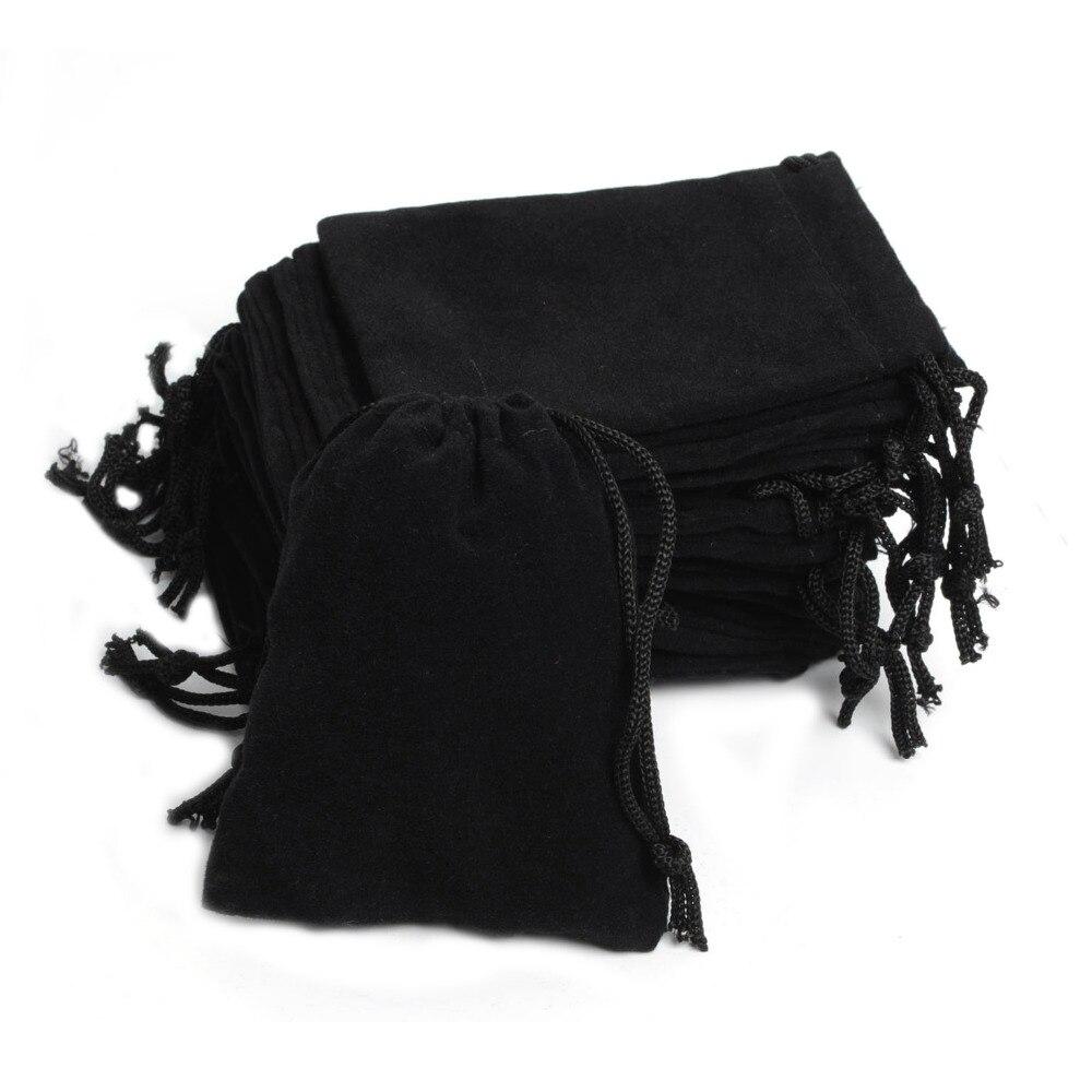 Бархатный мешочек для ювелирных изделий, 5 х7 см, 100 шт./лот