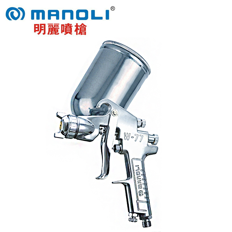 Manoli Spray gun W-77-G gravity type,Professional car spray gun, W77 painting gun, 1.5 2.0 2.5 3.0mm nozzle ofna hobao racing 1 8 hyper mt plus op 0083n 2psc set thick drive shaft new front rear drive shaft for rc parts