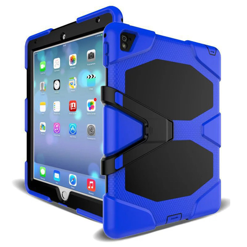 Tablet Case For iPad Mini 1 2 3 Waterproof Shock Dirt Snow Sand Proof Extreme Army Military Heavy Duty Kickstand Cover Case (5)