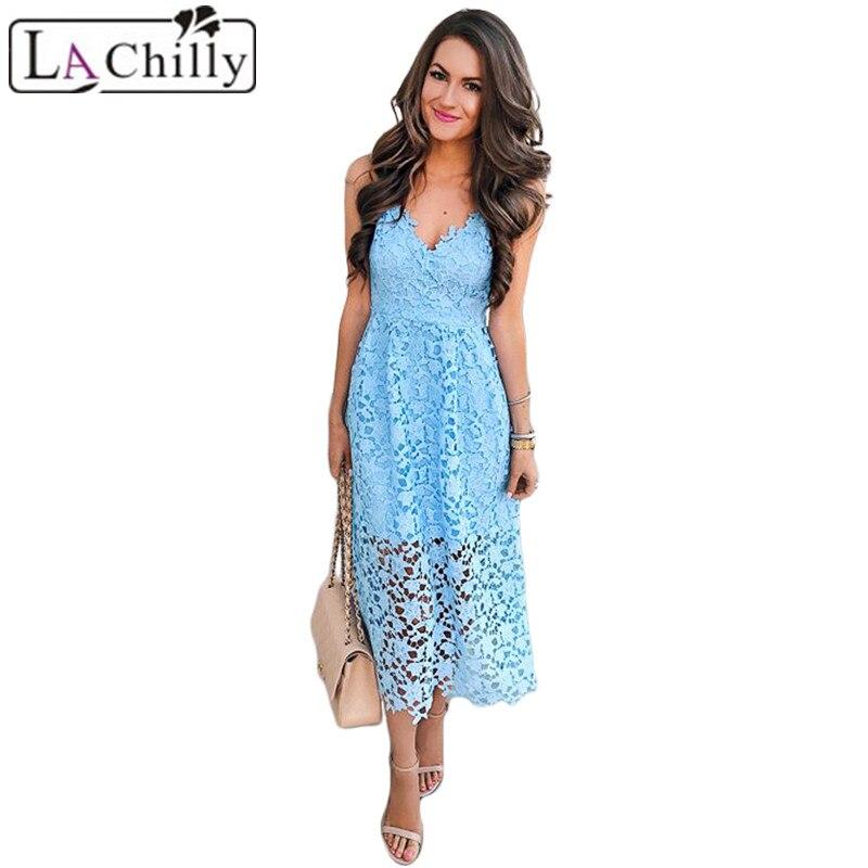 Light-Blue-Spaghetti-Strap-V-Neck-Lace-Midi-Dress-LC610253-4-28343_