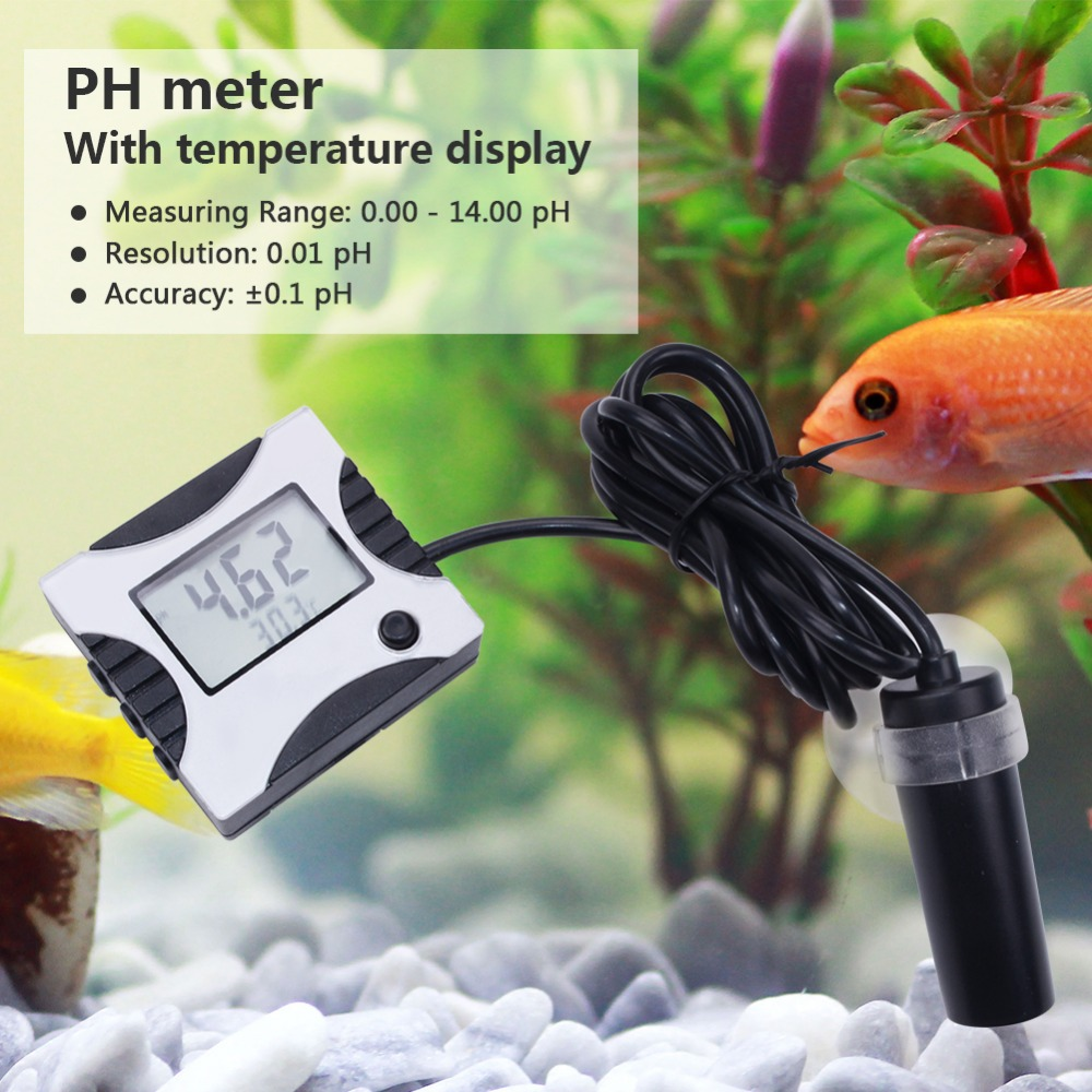 yieryi Pen-type Digital PH Meter Auto Calibration ph Tester Aquarium Pool Water With temperature Fish tank water quality monitoryieryi Pen-type Digital PH Meter Auto Calibration ph Tester Aquarium Pool Water With temperature Fish tank water quality monitor