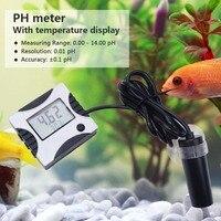 yieryi Pen type Digital PH Meter Auto Calibration ph Tester Aquarium Pool Water With temperature Fish tank water quality monitor
