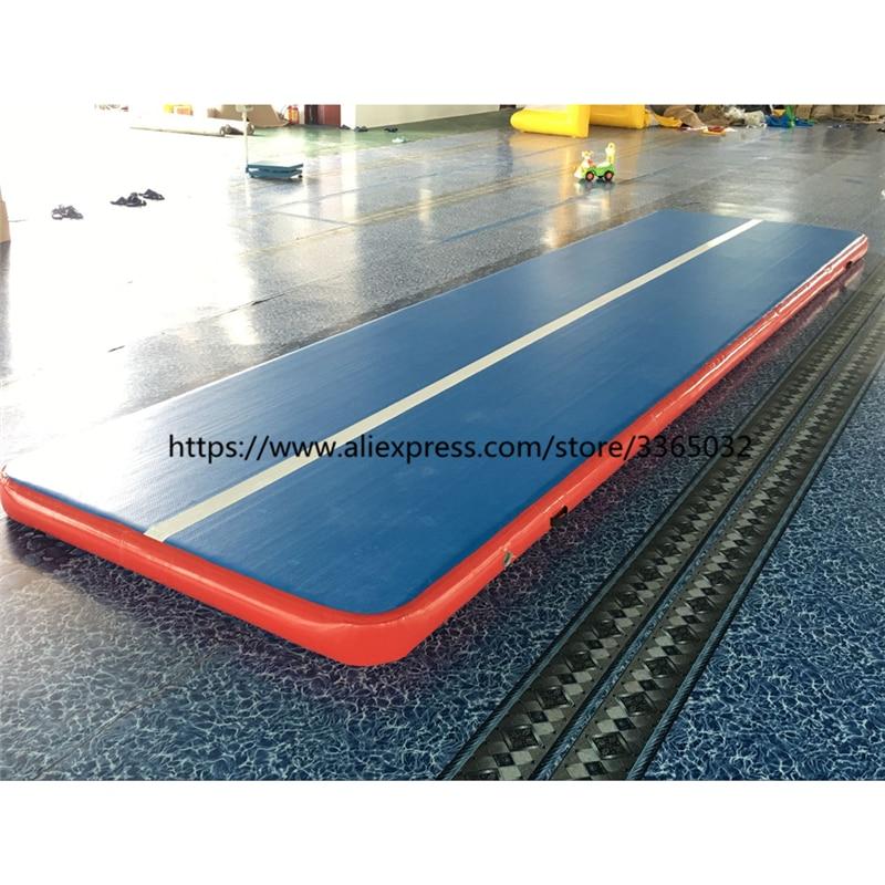 Le meilleur tapis gonflable d'air de voie de glissement de voie gonflable de longueur de la qualité 8 m pour la gymnastique