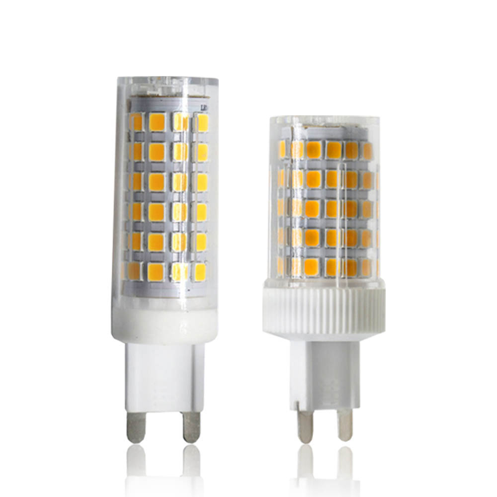 YWXLight G9 LED Lamp Bulb AC 220V 240V 9W 10W 2835 SMD LED Ceramic Spotlight Bulb 86 Lamp 76 Lamp Cool White Warm White Bulb xunruixing p 005 e27 5w 320lm 8350k 20 smd 2835 led cool white light bulb white ac 220v