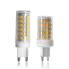 YWXLight G9 LED Lamp Bulb AC 220V 240V 9W 10W 2835 SMD LED Ceramic Spotlight Bulb 86 Lamp 76 Lamp Cool White Warm White Bulb