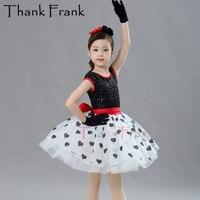 New Ballet Tutu Dress For Girls Children Bow Ballerina Princess Dresses Kids Adult Sequin Heart Skirt Latin Dance Costumes C580