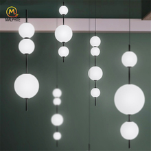 Modern LED Pendant Lamps Hanging Lamps Living Room Pendant Lights Reading Bedroom Kitchen Dining Room Glass Deco Fixtures Study