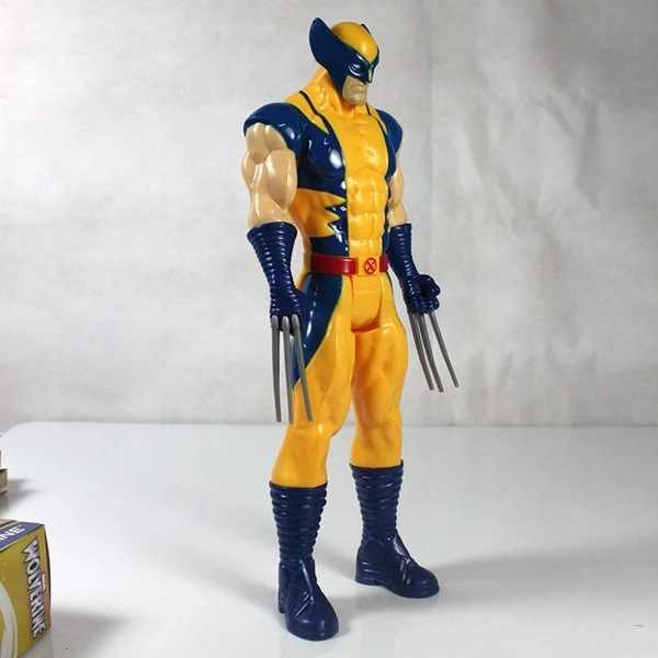 """2017 nova frete grátis marvel super hero x-men wolverine pvc action figure toy collectible 12 """"31 cm"""