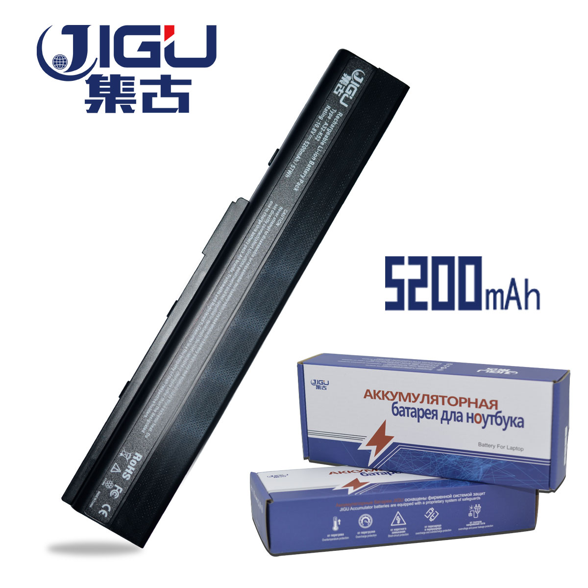 JIGU [Special Price] Laptop Battery For A52 A52J K42 K42F K52F K52J Series,70-NXM1B2200Z A31-K52 A32-K52 A41-K52 A42-K52