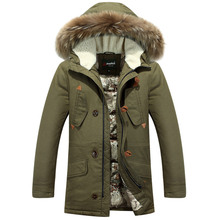 2016 new men's winter thick warm down jacket down jacket